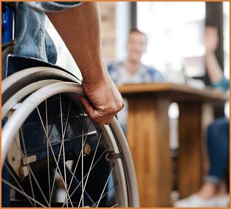 wheelchair-social security disability